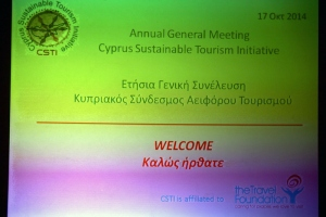 "AGM ""The role of education in the promotion of sustainable tourism"", 17.10.2014 - Famagusta Gate"