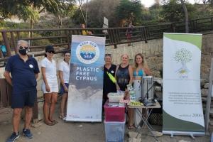 Beach Clean Up Campaign at Kapparis - 24.8.21