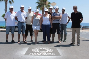 Clean up activities in Fig Tree Bay Beach 13.07.2012