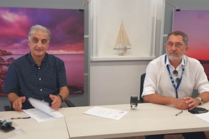 Cyprus Marine & Maritime Institute and CSTI sign MoU for bilateral collaboration on common initiatives