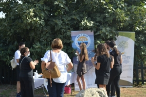 Keep Our Sand and Sea Plastic Free' campaign Unveiling of an information sign – Protaras, Fig Tree Bay 25.09.2020