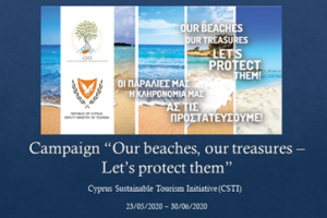 "Our beaches, our treasures – Let's protect them"" campaign 23.05.2020-30.06.2020"