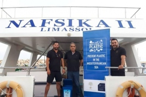 'Plastic Free Entertainment Cruises and Water Sport Activities' Initiative  Awareness raising event-– Faros Restaurant, Latchi 10.09.2020