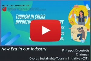 Tourism in Crisis – Opportunities for Recovery' - New Era in Our Industry 14.05.2020